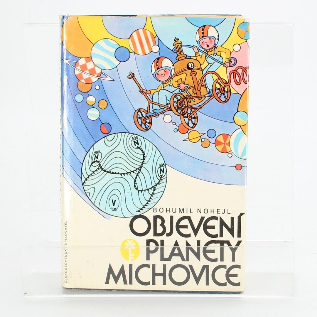 Dětská knížka Objevení planety Michovice