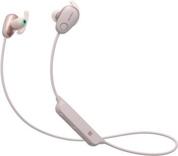 Bezdrátová sluchátka Sony WI-SP600N růžová