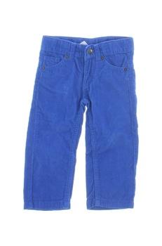Dětské manžestráky Lupilu modré
