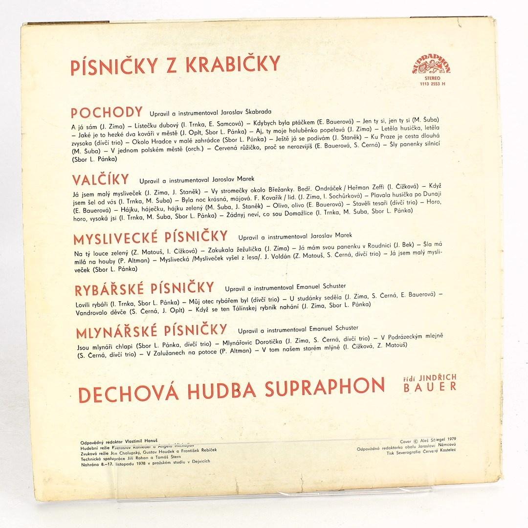 Písničky z krabičky Jindřich Bauer