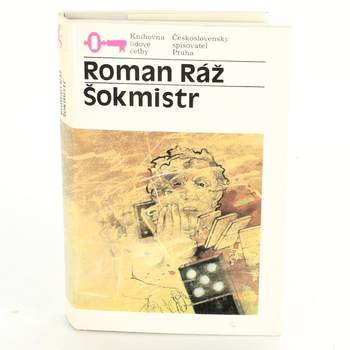 Kniha R. Ráž: Šokmistr,lidová četba