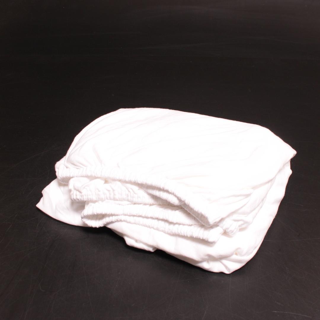 Prostěradlo Castell Jersey 140x200 bílé
