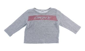 Dětské tričko s potiskem DKNY šedé