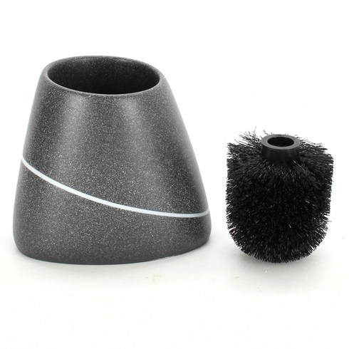 Štětka černá plastová s proužkem
