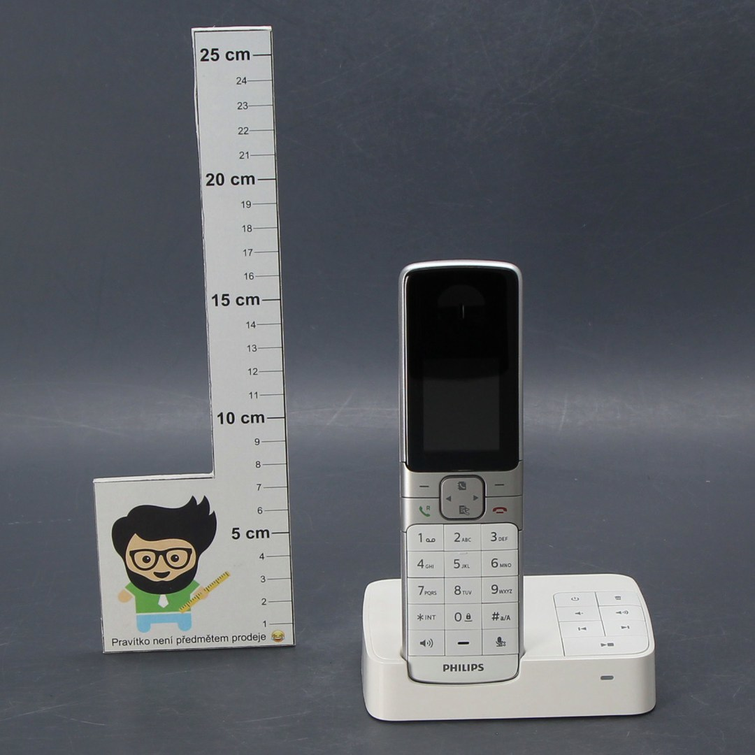 Bezdrátový telefon Philips D6351W / 38