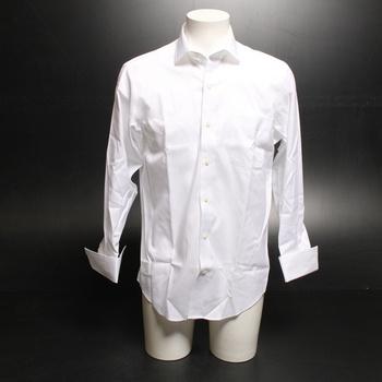 Pánská košile Buttoned Down bílá 38
