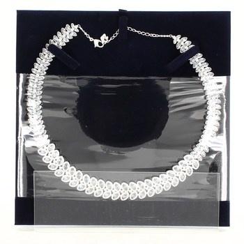 Dámský náhrdelník Swarovski dvouřadý