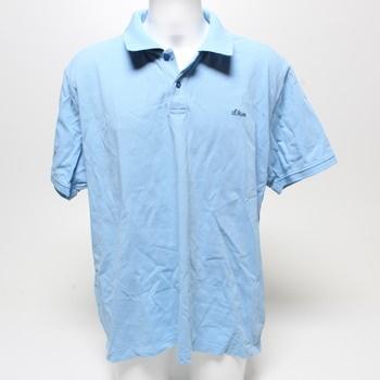 Pánské polo tričko s.Oliver světle modré 3XL