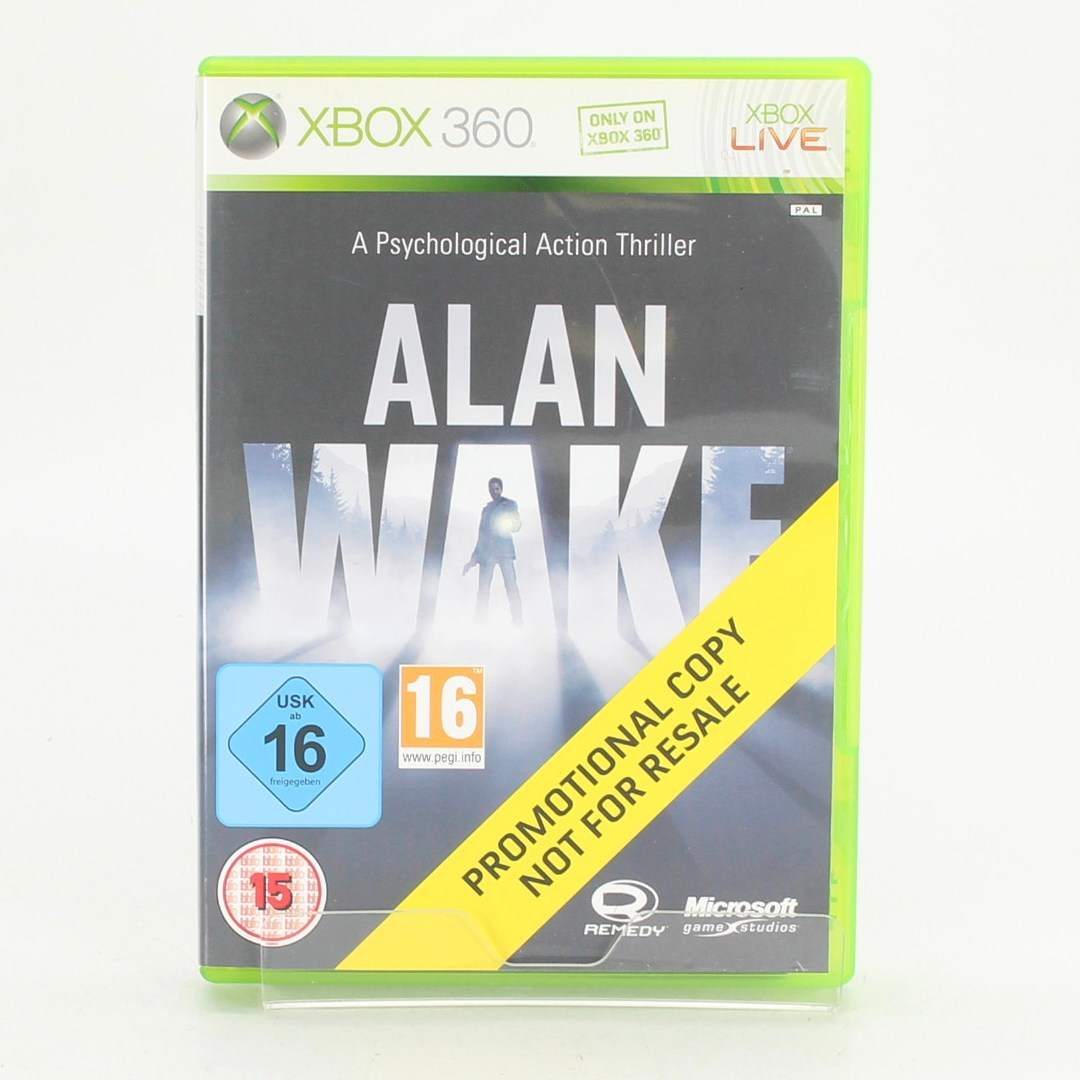 XBOX hra 360 Alan Wake