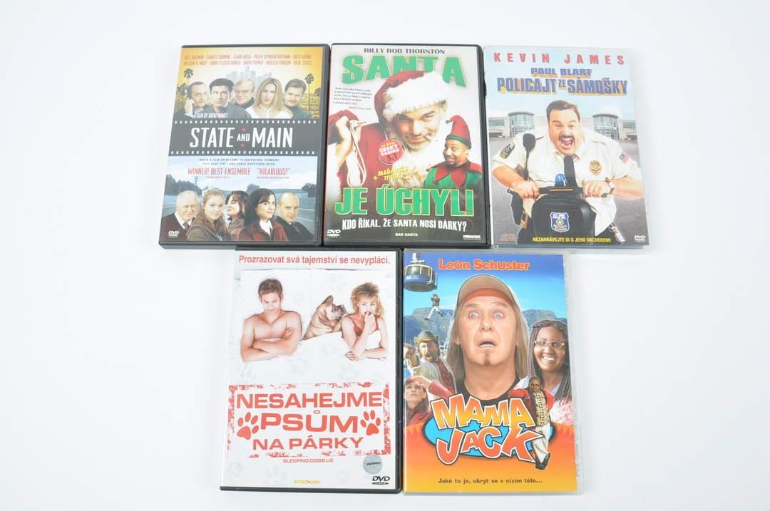 5 filmů na DVD (Mama Jack, Santa je úchyl)
