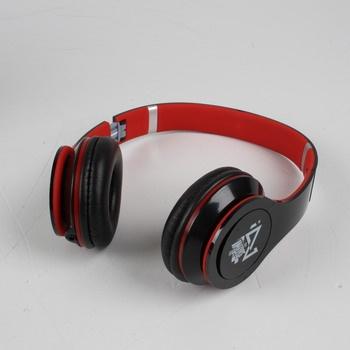 Náhlavní sluchátka Trevi DJ629 černočervená
