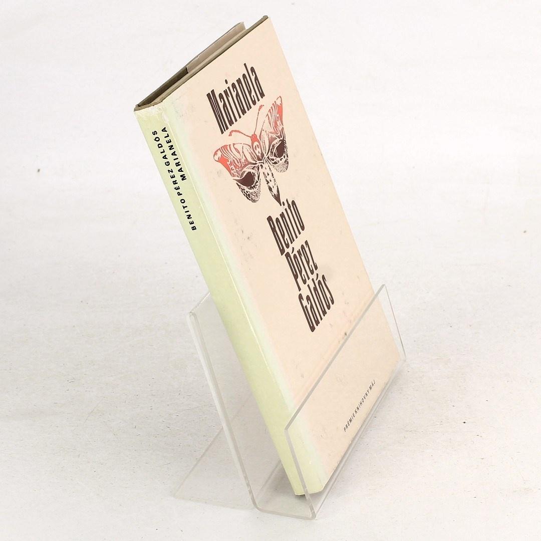 Kniha Benito Pérez Galdós: Marianela