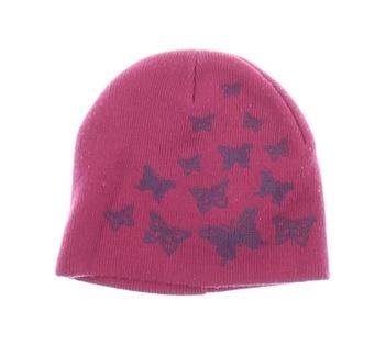 Dětská čepice Cherokee fialová s motýly