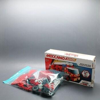 Hasičské červené auto Meccano