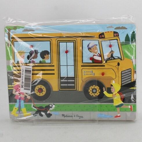 Skládanka Melissa & Doug autobus