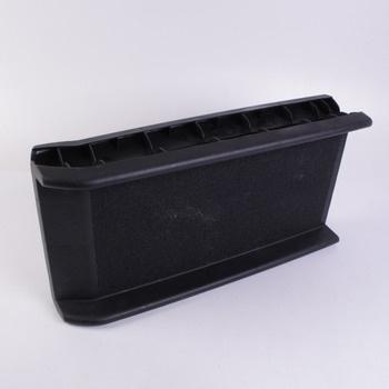 Pet rampa Dibea plastová černé barvy