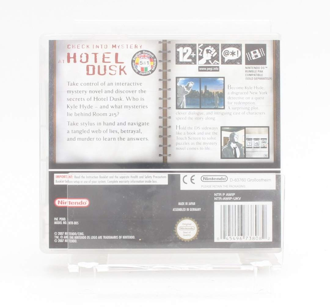 Hra Hotel Dusk Room 215 - Nintendo DS
