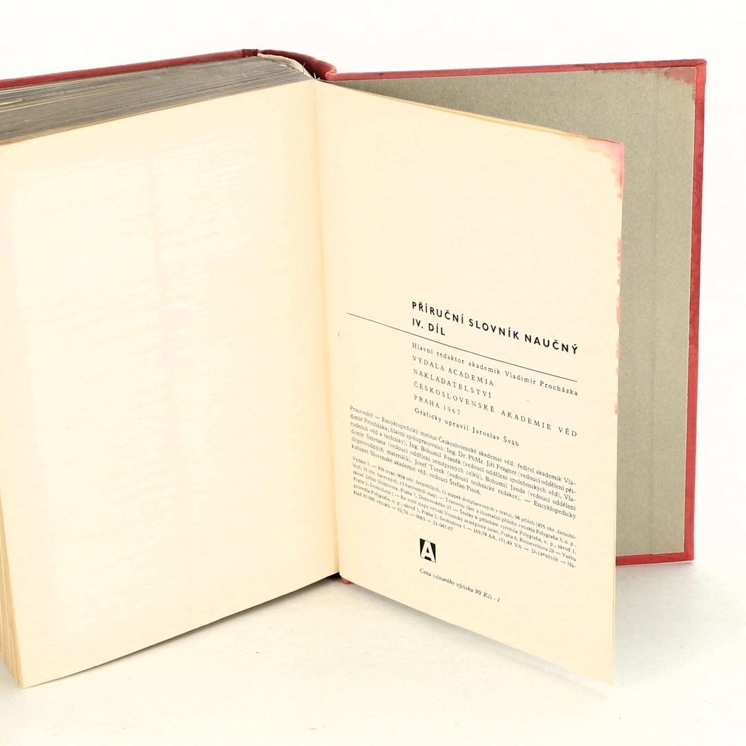 Kniha Příruční slovník naučný IV. díl