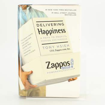 Kniha Tony Hsieh: Delivering Happiness