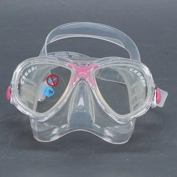 Potápěčské brýle Cressi dětské růžové