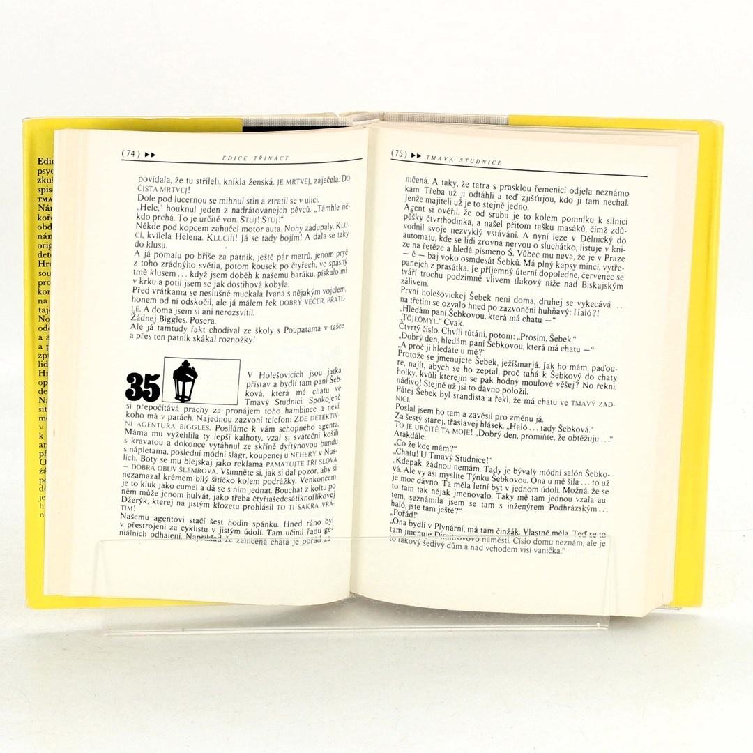 Kniha Tmavá studnice