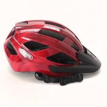Cyklistická helma Abus Macator červená