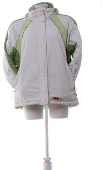 Dámská bunda Sam šedo zelená