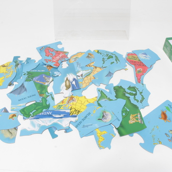 Dětské puzzle Melissa Mapa světa