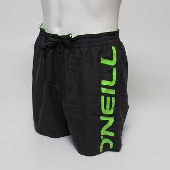 Pánské koupací šortky O´neill černo-zelené