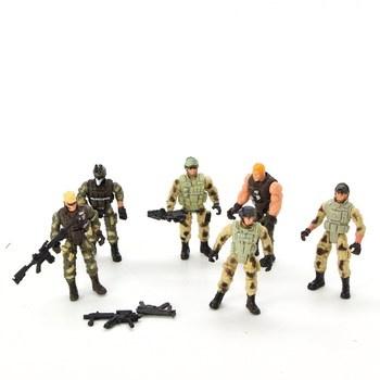 Plastoví vojáčci 6 ks Yijiaoyun