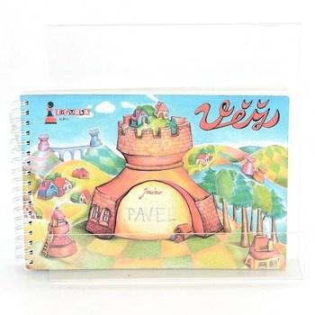 Dětská knížka Figurka: Věž