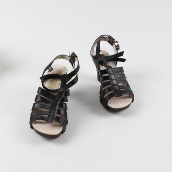 9098a8b460 Dámské sandále Biostep Werner černé