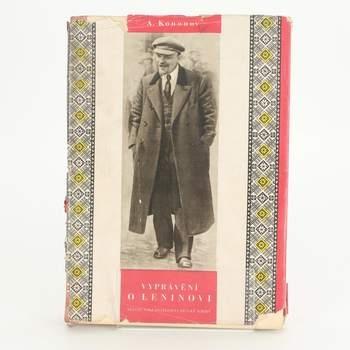 Kniha A. Kononov: Vyprávění o Leninovi