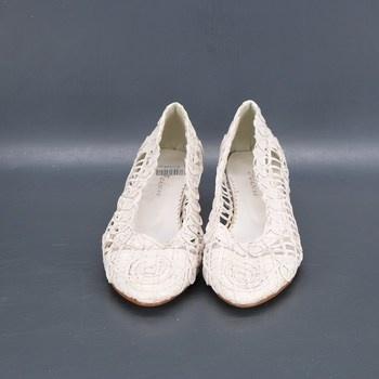 Dámská letní obuv Feixu bílá