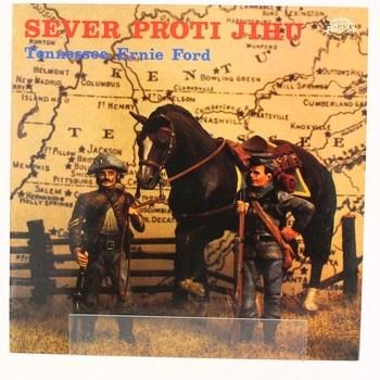 Gramofonová deska Sever proti jihu