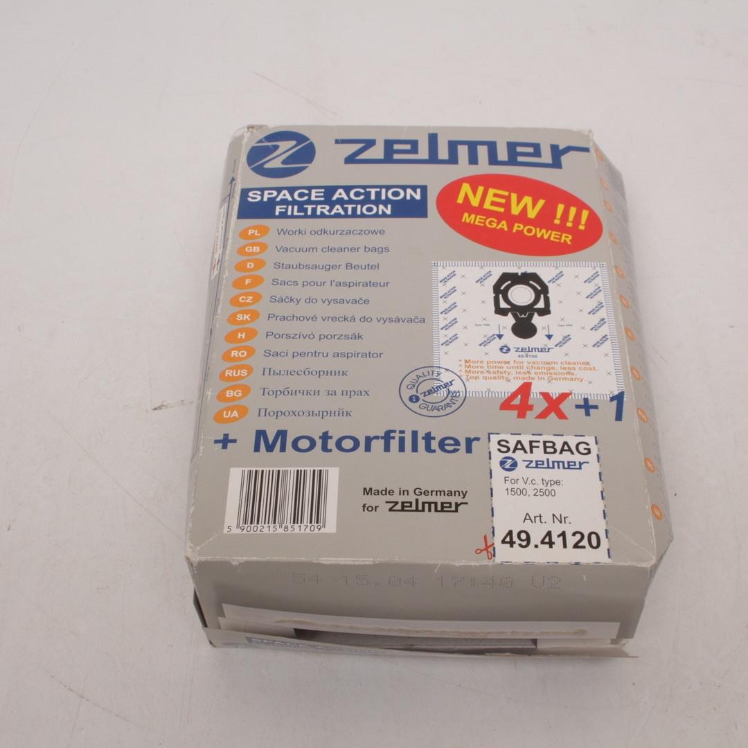 Sáčky do vysavače Zelmer 49.4120