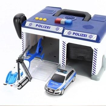 Policejní stanice s vrtulníkem Dickie 94707