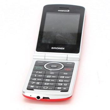 Mobilní telefon Brondi Magnum 3 růžový