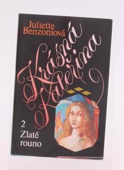 Kniha J. Benzoniová: Zlaté rouno