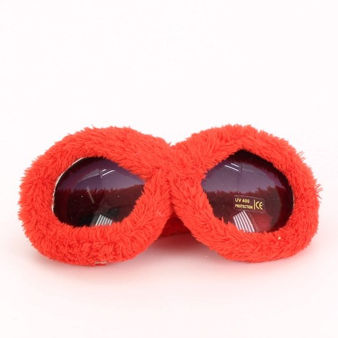 Sluneční brýle dámské, chlupaté