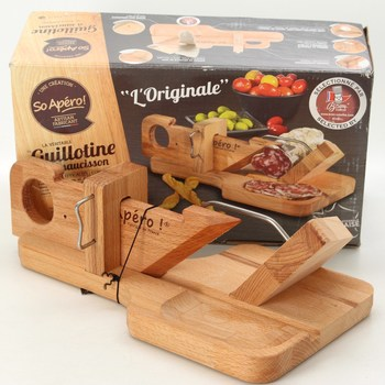 Kuchyňská gilotina So Apéro dřevěná