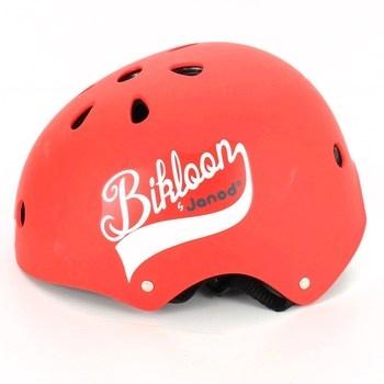 Dětská helma Janod Bikloon červená