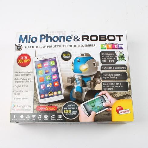 Robot ovládaný mobilem Lisciani