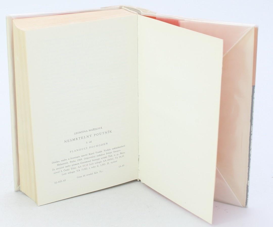 Kniha L. Mašínová: Nesmrtelný poutník 3