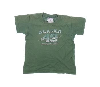 Chlapecké tričko Jerzees zelené