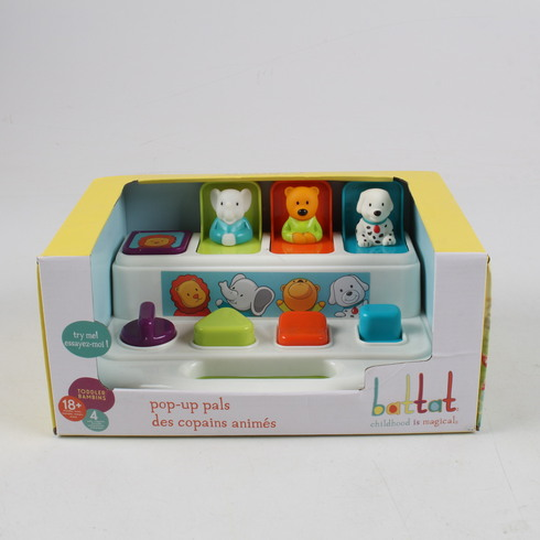 Interaktivní hračka Battat Pop-Up Pals