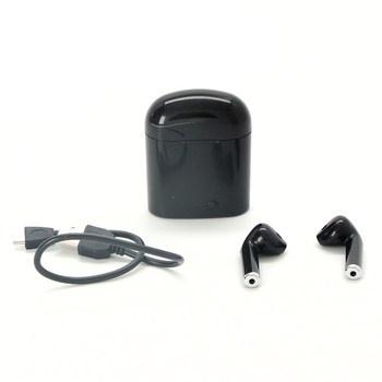 Bezdrátová sluchátka TWS i7S mini černé