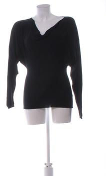 Dámský zimní svetřík černý