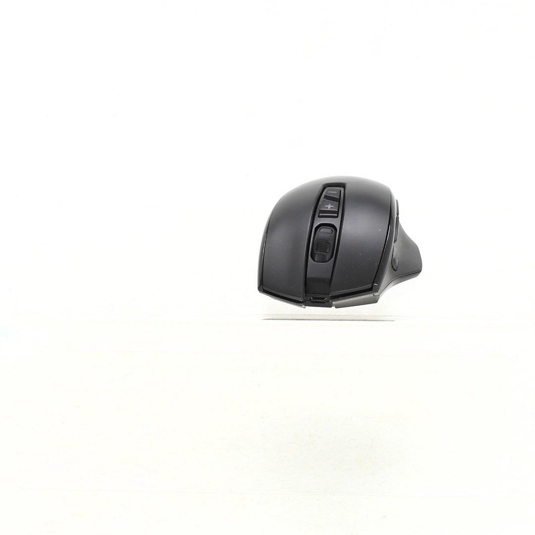 Bezdrátová herní myš dobíjecí černá