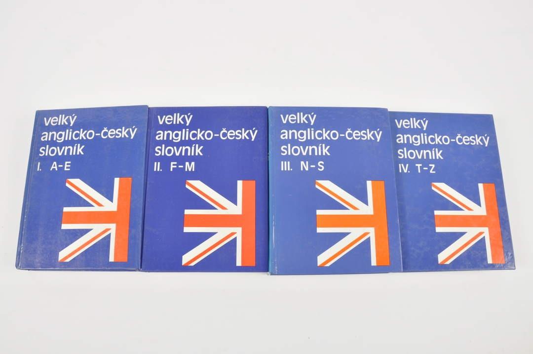 Velký anglicko-český slovník, 4 díly
